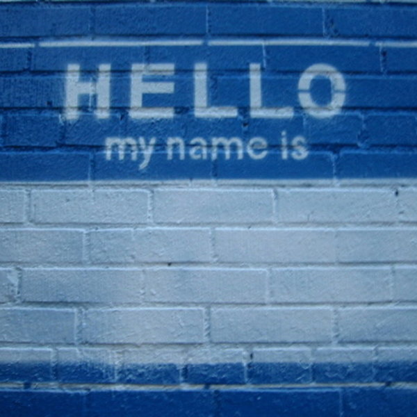 Hello, My Name Is _________. cover art